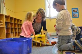 Teacher Amy, Alice and Cameron